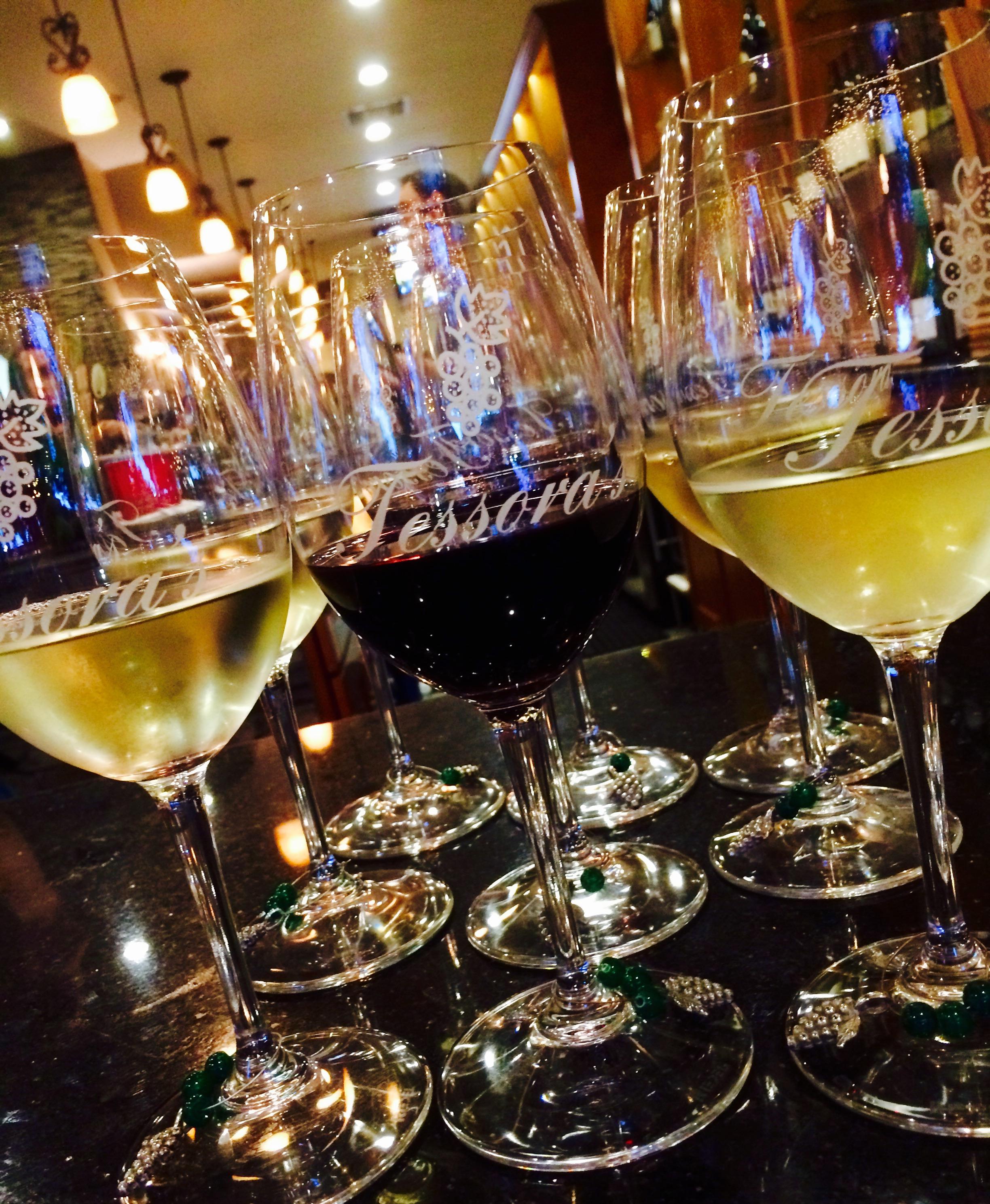 wine glass brochure