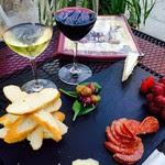 patio cheese platter campbell restaurant
