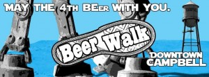 beer walk downtown campbell