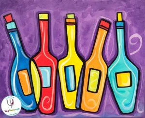 learn to paint at campbell restaurant