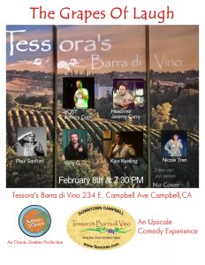 comedy night in campbell ca